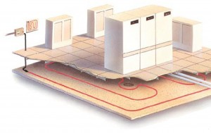 TraceTek sustav u serverskim prostorijama