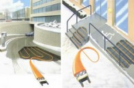 Grijanjeulaznih rampi, stepenica, staza i predulaza